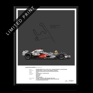 Lewis Hamilton 2008 poster