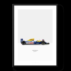 Williams FW14B MANSELL Poster