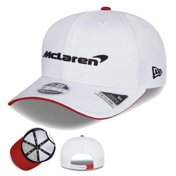 MCLAREN WHITE CAP