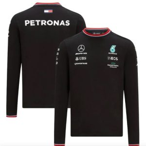 MERCEDES 2021 BLACK LONGSLEEVE