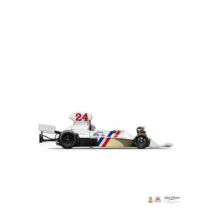 Hesketh 308B Hunt Poster