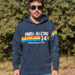 kimoa blue hoodie