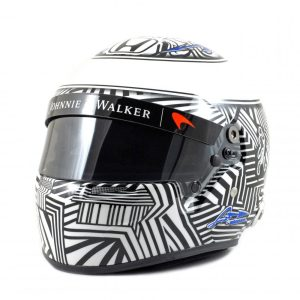 Fernando Alonso 2017 helmet
