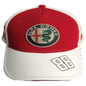 Kubica Alfa Romeo Cap